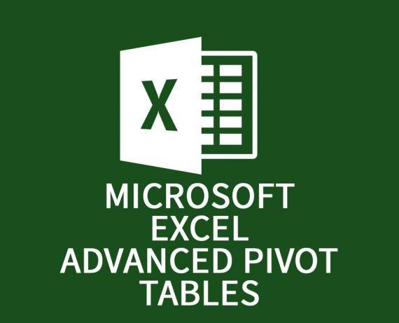 Microsoft Excel Advanced Pivot Tables
