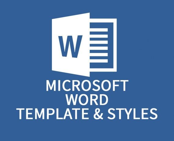 Microsoft Word Template and Styles
